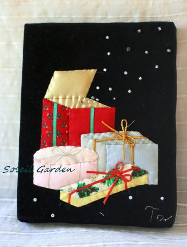 ★作品14・・クリスマスの小さな額_e0154682_134274.jpg