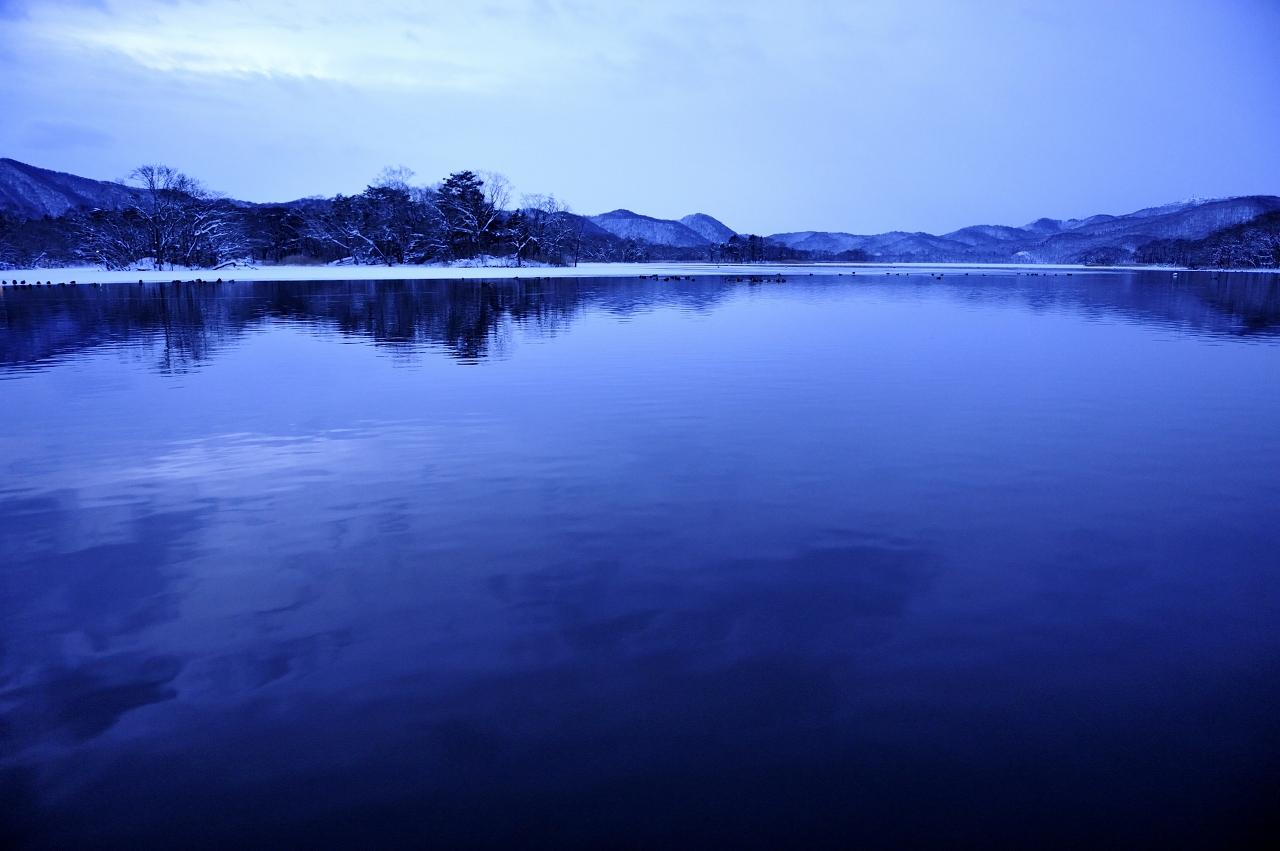 沼の朝_e0171886_21175274.jpg