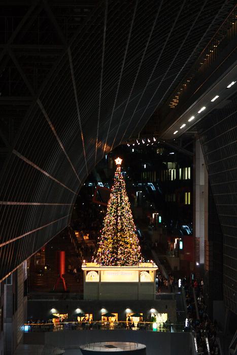 クリスマスの足音(京都駅ビル)_f0155048_0421650.jpg