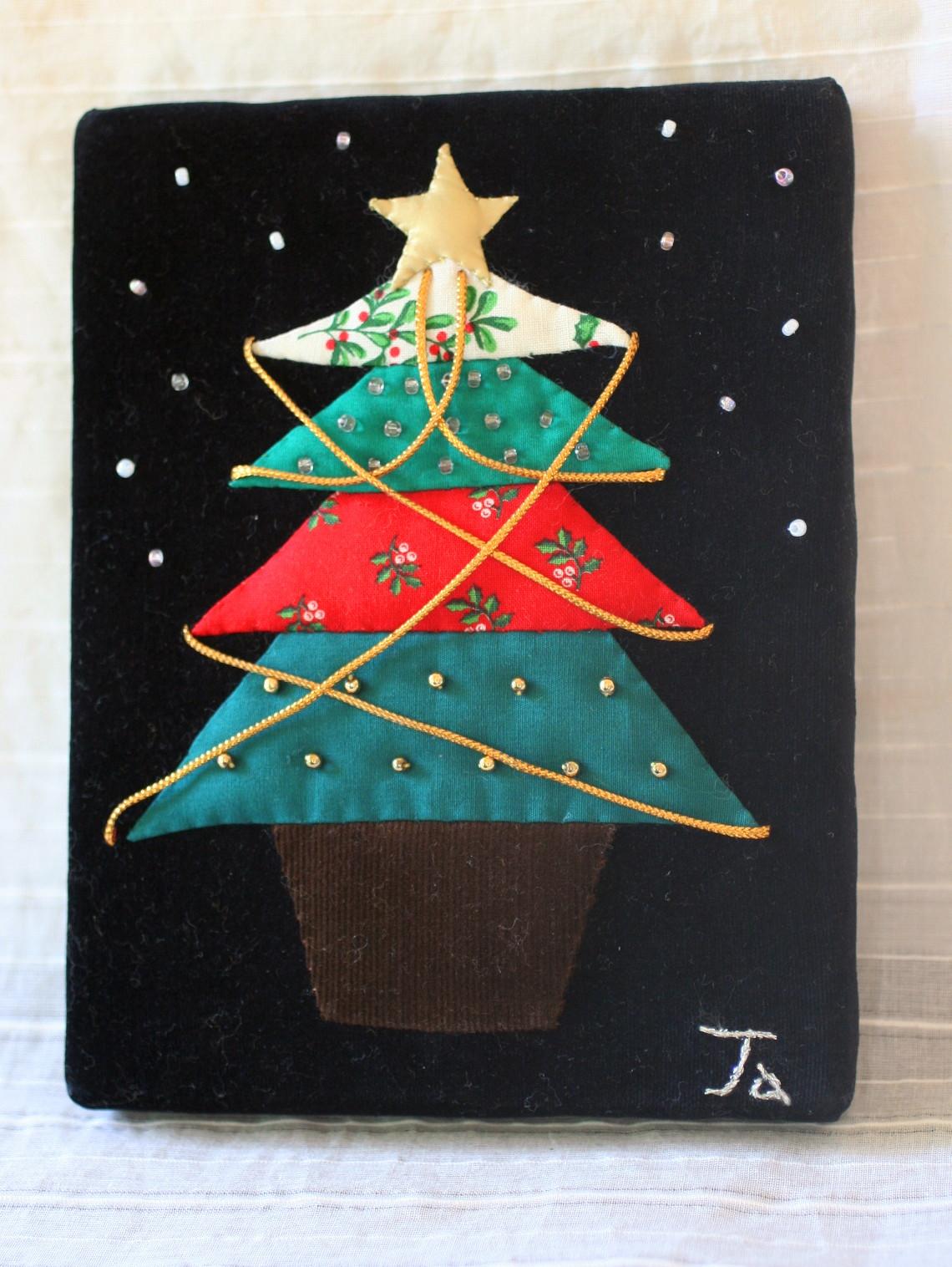 ★作品14・・クリスマスの小さな額_e0154682_2224156.jpg