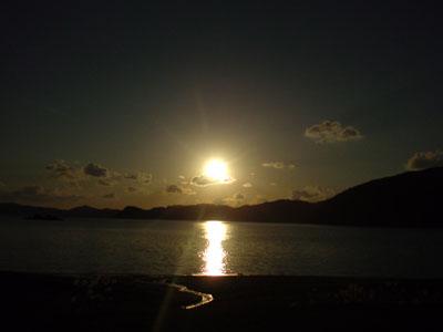 夕陽もきれい!_e0028387_23503797.jpg