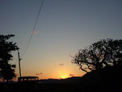夕陽もきれい!_e0028387_23505687.jpg