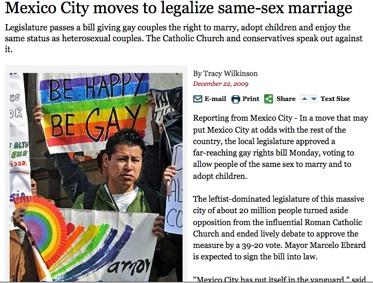 メキシコ市同性婚法制度化へMexico City moves to legalize same-sex marriage_b0074921_035396.jpg
