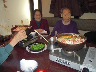 """今年最後の外食会 """"ちゃんこ江戸沢""""   の巻  _e0164724_12203319.jpg"""