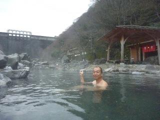 湯原温泉 混浴露天風呂+油屋_b0054727_21272851.jpg