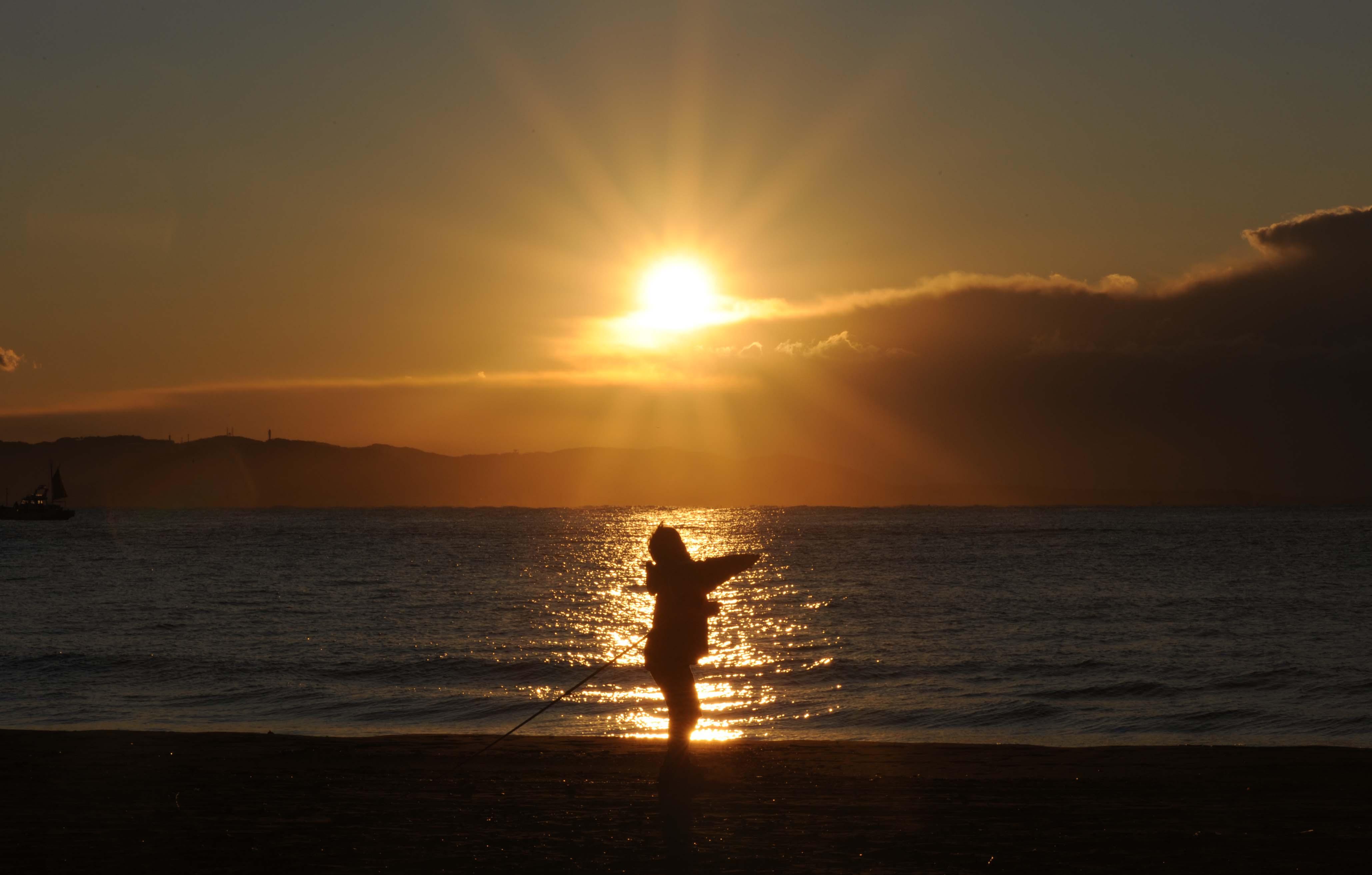太陽さん釣り_e0157647_4314076.jpg
