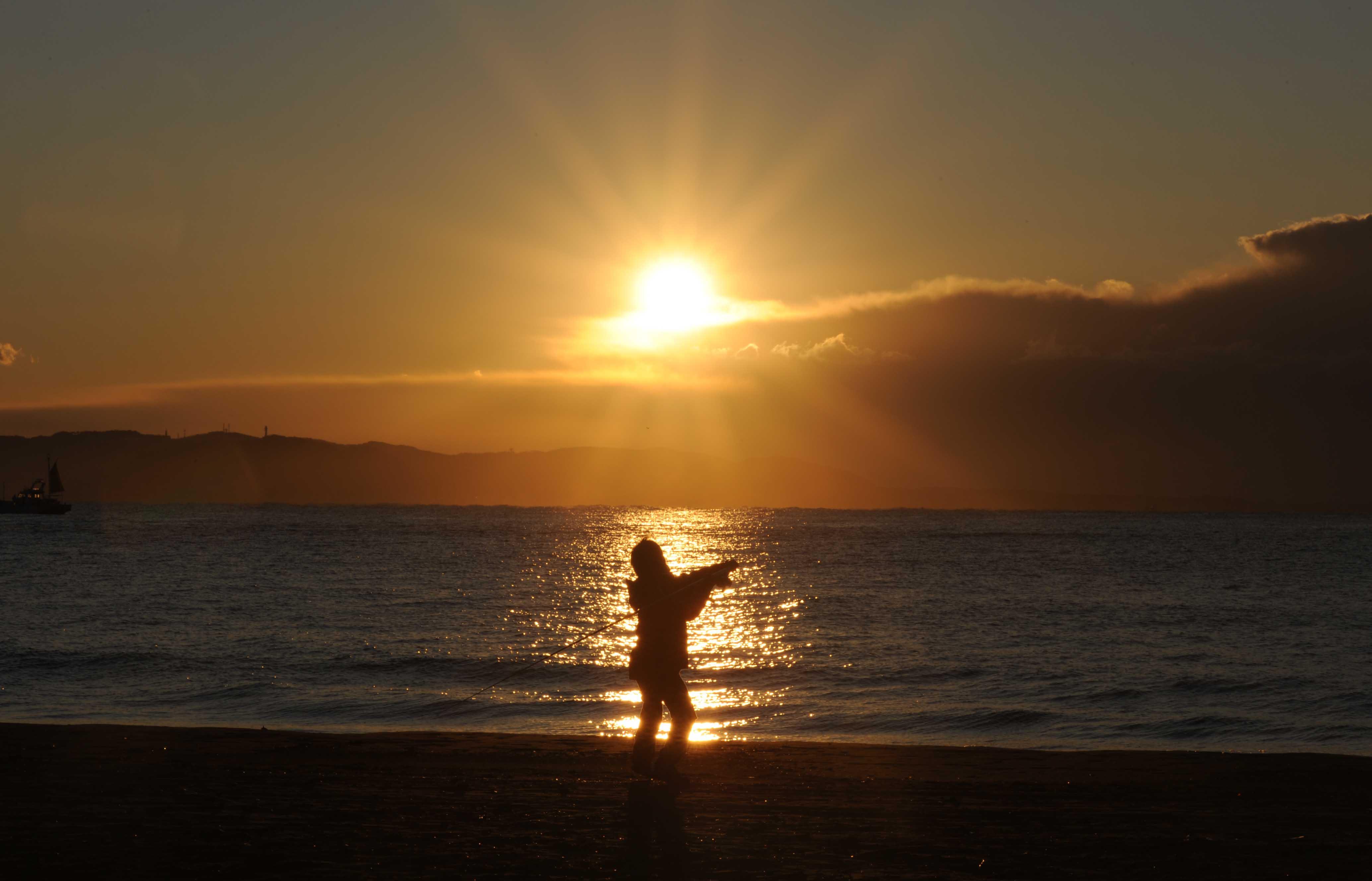 太陽さん釣り_e0157647_4321684.jpg