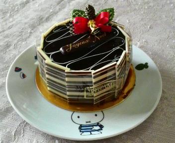 満腹土産 ヴィタメールのチョコレートケーキ_c0185356_1133485.jpg