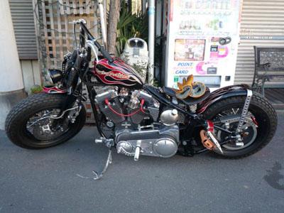 昨日のバイク!!_f0194657_15132650.jpg