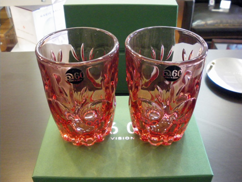 "60VISION 2009 WINTER GIFT限定品!!ADERIA60 LOOK COLA GLASS""ロゼ\""。_b0125570_12173273.jpg"