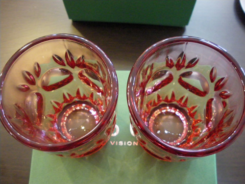 "60VISION 2009 WINTER GIFT限定品!!ADERIA60 LOOK COLA GLASS""ロゼ\""。_b0125570_12173880.jpg"