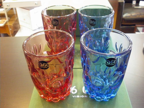"60VISION 2009 WINTER GIFT限定品!!ADERIA60 LOOK COLA GLASS""ロゼ\""。_b0125570_12182276.jpg"