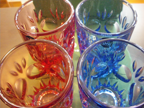 "60VISION 2009 WINTER GIFT限定品!!ADERIA60 LOOK COLA GLASS""ロゼ\""。_b0125570_12182738.jpg"