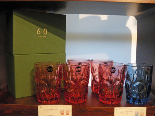 "60VISION 2009 WINTER GIFT限定品!!ADERIA60 LOOK COLA GLASS""ロゼ\""。_b0125570_12184421.jpg"