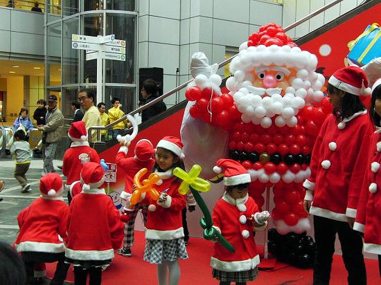 散歩道でのクリスマス_f0030085_22325816.jpg