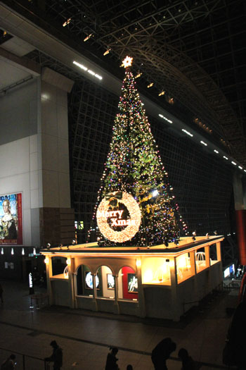 クリスマスイブ 京都駅_e0048413_21541794.jpg