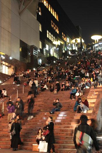 クリスマスイブ 京都駅_e0048413_21544299.jpg
