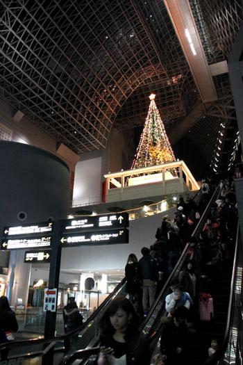クリスマスイブ 京都駅_e0048413_2154510.jpg