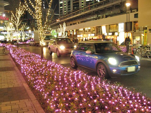 有楽町 東京交通会館前のライトアップ_a0016730_22393977.jpg