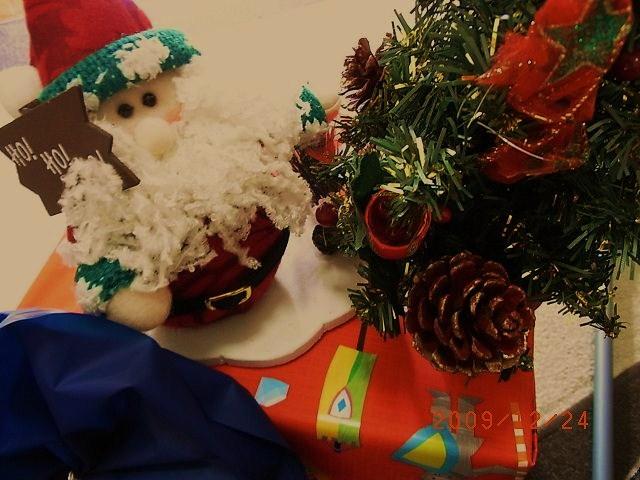 クリスマス2009 聖誕快楽!_e0155771_19172476.jpg