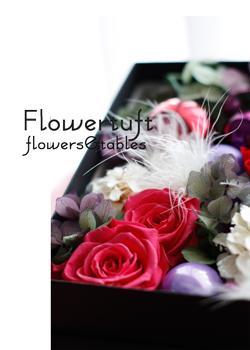 花のクリスマスギフトボックス*_c0137872_1871098.jpg