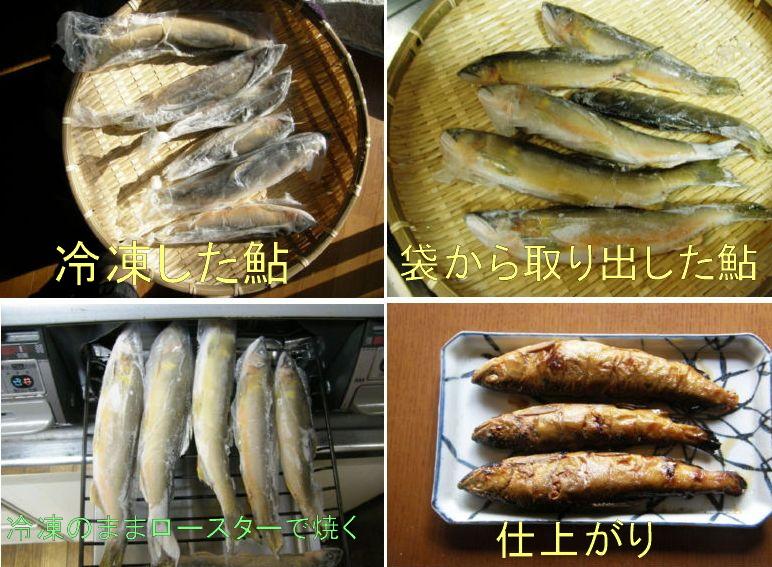 鮎の甘露煮_e0094102_1753053.jpg
