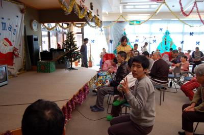 聖愛園ミニクリスマス会!_a0154110_14252471.jpg