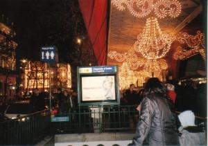 第2弾!花の都パリのクリスマス・イルミネーションはサスガに凄い!_a0154912_13141747.jpg