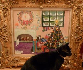 メリークリスマス猫 空のぇる編。_a0143140_958483.jpg