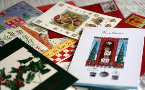 ★絵本のようなクリスマスカード_e0154682_223362.jpg