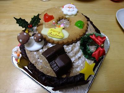 tartelette@新所沢のクリスマスケーキ_d0044093_0572053.jpg
