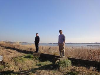 「草深の家」の近くに小川を見つけました。_c0195909_11505142.jpg