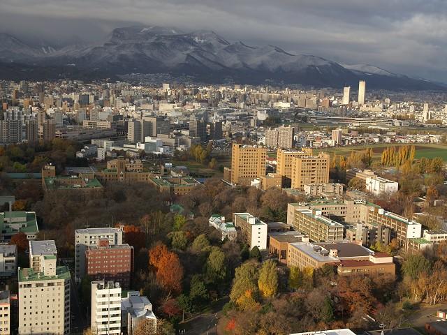 2009年秋、羊蹄山、北海道大学構内_c0219616_16181411.jpg
