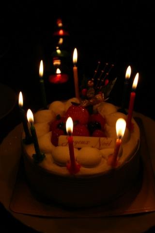 今年のクリスマスケーキ_b0168840_941654.jpg