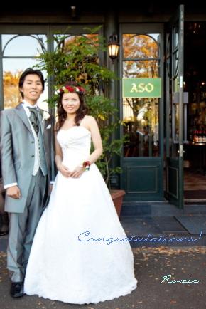 2009.12.27 花嫁さまのお写真_b0120777_2241376.jpg