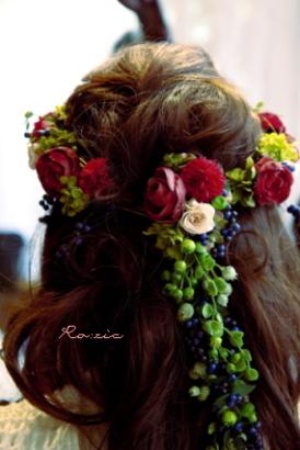 2009.12.27 花嫁さまのお写真_b0120777_2301627.jpg