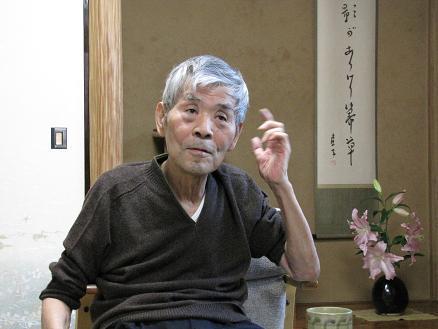 吉本隆明氏を訪ね原稿を御願いしました_c0075701_1954566.jpg