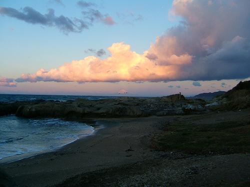 布良浜(館山)へ ~朝の富士山編~_e0089232_12544322.jpg