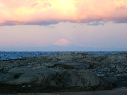 布良浜(館山)へ ~朝の富士山編~_e0089232_12544970.jpg