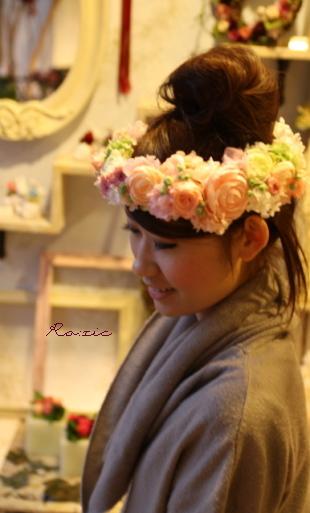 2009.12.28 ボリュームたっぷり 豪華な花冠_b0120777_23574556.jpg