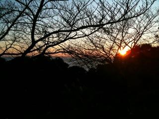 今日の夕陽_e0061304_16525374.jpg