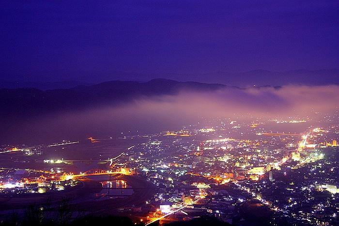 夜景と雲海_a0140608_20341891.jpg