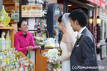 カプリ島の結婚式 〜ドラジェを投げろっ!〜_c0024345_17372294.jpg