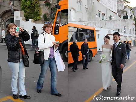 カプリ島の結婚式 〜ドラジェを投げろっ!〜_c0024345_1737872.jpg