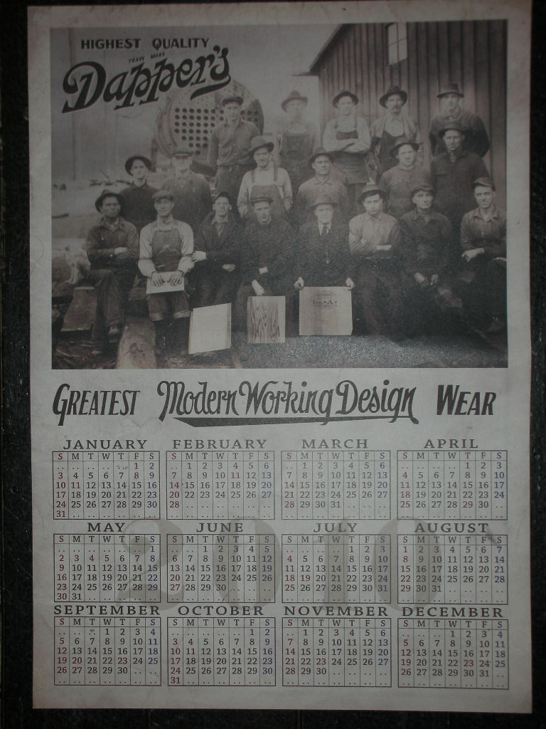 Dapper\'s カレンダー_c0187684_14541240.jpg