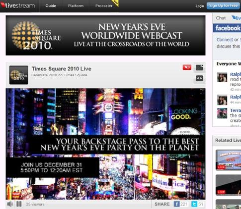 タイムズスクエアのカウントダウンは今年ネット生中継されます_b0007805_16161622.jpg