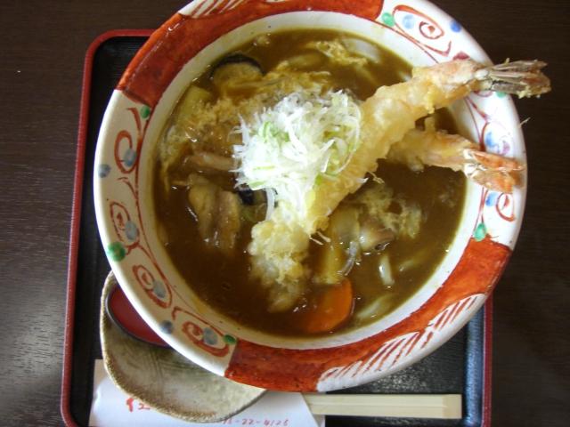 佳色庵で東京カレーうどん_c0210533_1791621.jpg
