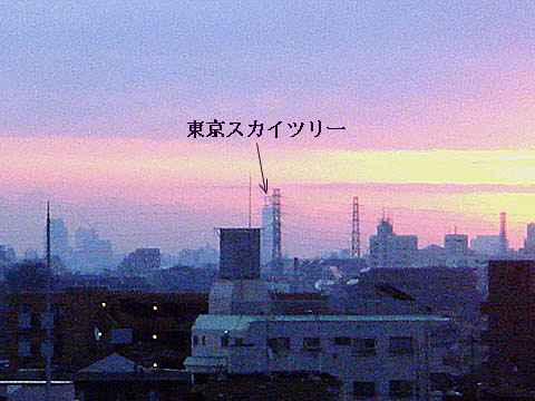 朝焼け_f0030085_21392594.jpg