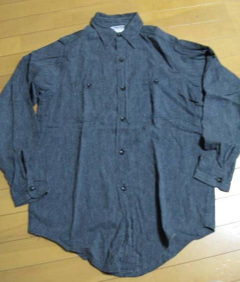 新春2日の入荷商品!40\'S ブラックシャンブレーシャツなど、、_c0144020_17345811.jpg