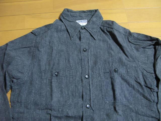 新春2日の入荷商品!40\'S ブラックシャンブレーシャツなど、、_c0144020_17351479.jpg